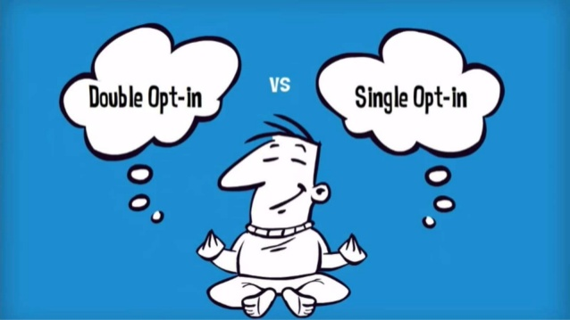 single or double optin