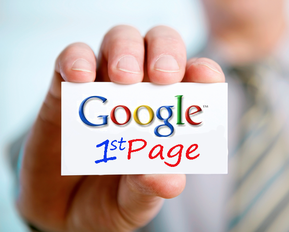 google page one article